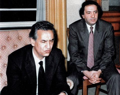 Aït Ahmed et André Mecili