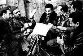 Krim Belkacem, Amar Ouamrane, Sadek Dehilès, Salah Zamoum