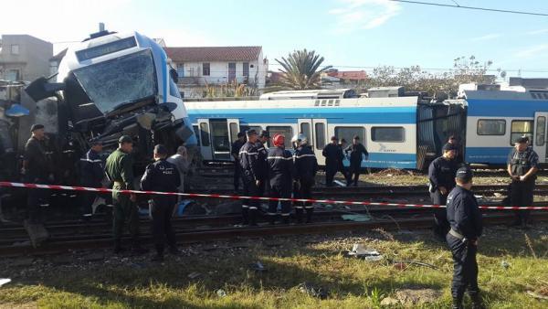 Déraillement mortel d'un train à Alger