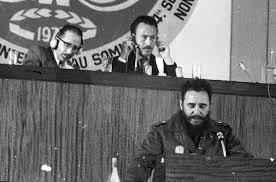Fidel Castro au sommet des nons-alignés à Alger en 1973.