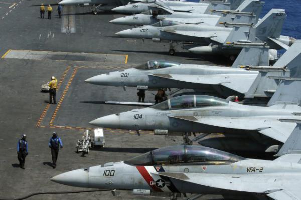 Porte-avions des USA