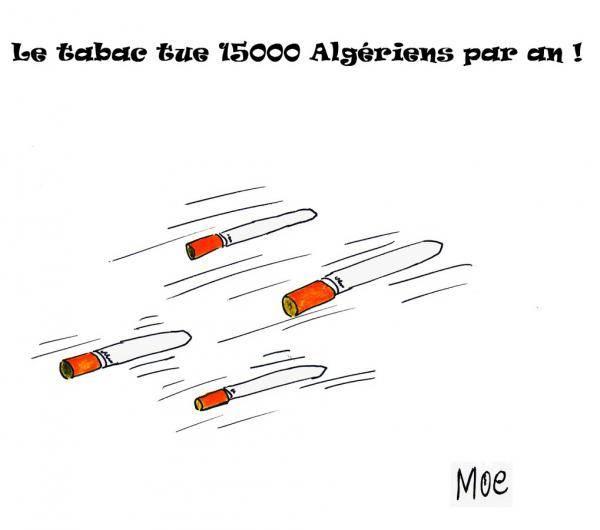 Le tabac tue 15000 Algériens par an !