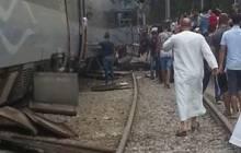 Grave accident de trains à Boudouaou (Vidéo)