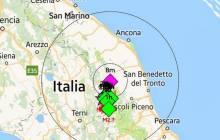 Fortes secousses telluriques ressenties dans le centre de l'Italie