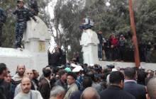 Une foule immense à l'enterrement d'Amar Ezzahi (Images)