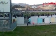 Graves violences au stade de l'Unité Maghrébine de Béjaïa (vidéo)