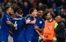 UEFA CL : Qualification historique pour Leicester, Mahrez passeur. (Vidéo)