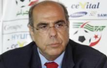 FAF : Raouraoua n'a pas présenté sa candidature à un nouveau mandat