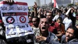 Manifestation au Caire à la veille d'un référendum sur la Constitution