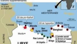 Libye: l'Otan veut la chute de Kadhafi, violents combats à Misrata