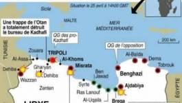Libye: les pro-Kadhafi attaquent le port de Misrata mais la rébellion confiante