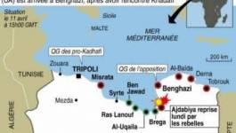 Libye: la rébellion veut le départ Kadhafi, critiques contre l'Otan
