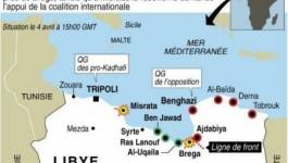 """Libye: les rebelles reculent, accusent l'Otan de """"laisser mourir"""" Misrata"""