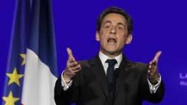 Le candidat-président Nicolas Sarkozy piège la France