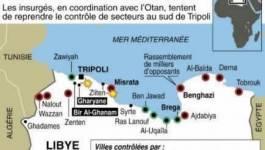 Libye: les rebelles avancent vers Tripoli, l'Otan maintient la pression