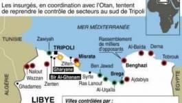 Libye : les rebelles lancent une offensive dans l'Ouest et prennent un hameau