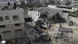Raids aériens israéliens dans la bande de Gaza
