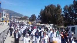 L'héroïque marche des contractuels vers Alger se poursuit