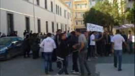 Batna : les étudiants de la faculté des langues, Université-2 en grève