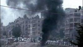 Homs pilonnée et les premiers observateurs de l'ONU sont à Damas