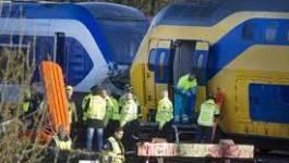 Amsterdam : une collision entre deux trains fait une soixantaine de blessés