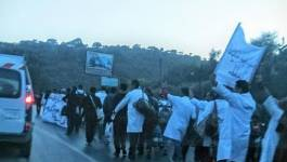 Les contractuels et du Cela poursuivent leur marche vers Alger