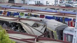 France: une rame d'essai d'un TGV déraille, au moins dix morts
