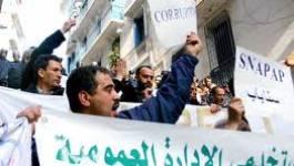 Des dizaines de syndicalistes bastonnés et arrêtés à Alger
