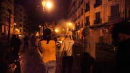 URGENT : reprise ce soir des émeutes à Alger