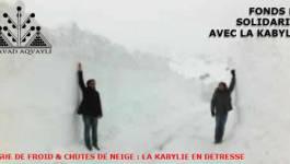 Froid, neige : faites des dons au Fonds de solidarité avec la Kabylie
