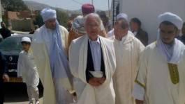 Photo du jour. Chakib Khelil poursuit sa tournée des zaouïas
