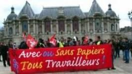France : les sans papiers de Lille relâchés suite à une décision de justice