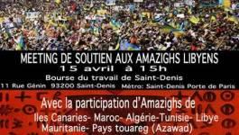 Un printemps pour Tripoli : meeting de soutien aux Amazighs libyens dimanche