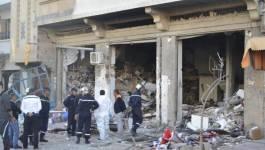 Batna : un immeuble de 2 étages ravagé par un incendie à Bouzourane