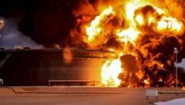 Les jihadistes de l'EI mettent le feu aux installations pétrolières en Libye