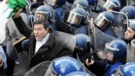 La police encercle la maison des syndicats à Alger, violence massive contre les enseignants