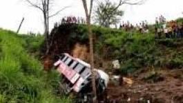 Chute d'un car dans un ravin (Tiaret) : 21 morts et plus de 30 blessés