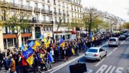 Photo. Des milliers de militants du MAK ont marché dimanche à Paris