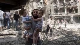 """Syrie : """"Il est temps de mettre un terme à cette guerre effroyable"""""""