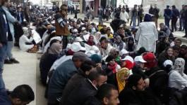 Vidéo. Les contractuels évacués à coups de matraques de leur camp de Boudouaou