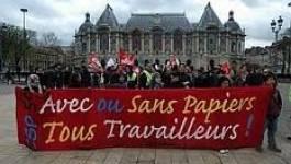 France : les sans papiers de Lille écrivent à Manuel Valls