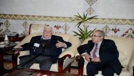 Walid Al Mouallem, le chef de la diplomatie syrienne, en visite en Algérie