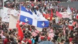 """Canada : manifestation pour dénoncer la """"loi matraque"""" à Montréal"""