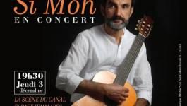 Le chanteur compositeur Si Moh en concert, jeudi, à Paris