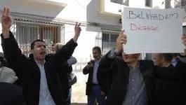 Les opposants de Belkhadem s'en remettent à l'huissier de justice