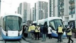 Mise en circulation vendredi du 2e tronçon du tramway d'Alger