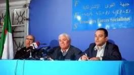 """Démissions au FFS : un """"non événement"""" pour Chafaa Bouaiche"""