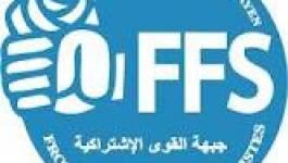 Déclaration de démission de 60 cadres du FFS