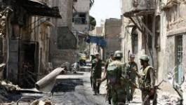 Syrie : l'armée bombarde Damas à l'arme lourde