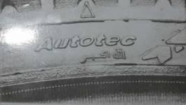 Saisie de pneus portant le nom d'Allah